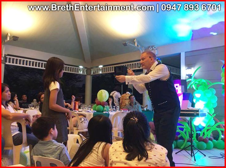 """Family Reunion Entertainer HIRE David Breth. He is a professional entertainer/magician in Angeles City, Pampanga … CALL 0947-893-6701 for bookings and inquiries!"""