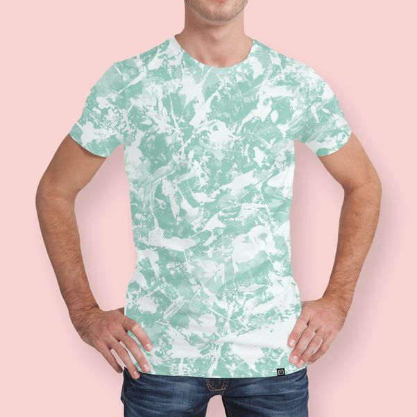 Discover «Chaos Blue! green», Numbered Edition Men's All Over T-Shirt by gasponce - From 37€ - Curioos