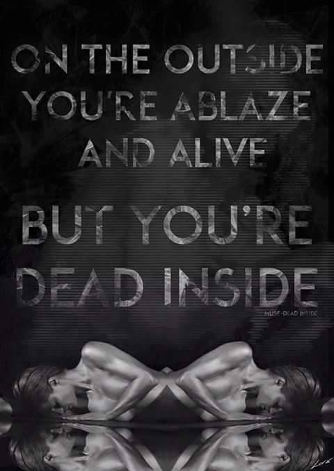 My lips feel warm to the touch My words seem so alive My skin is warm to caress I'll control and hypnotise  You've taught me to lie Without a trace And to kill with no remorse On the outside I'm the greatest guy Now I'm dead inside!