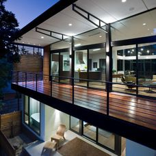 Contemporary Deck by mitchell garman architects