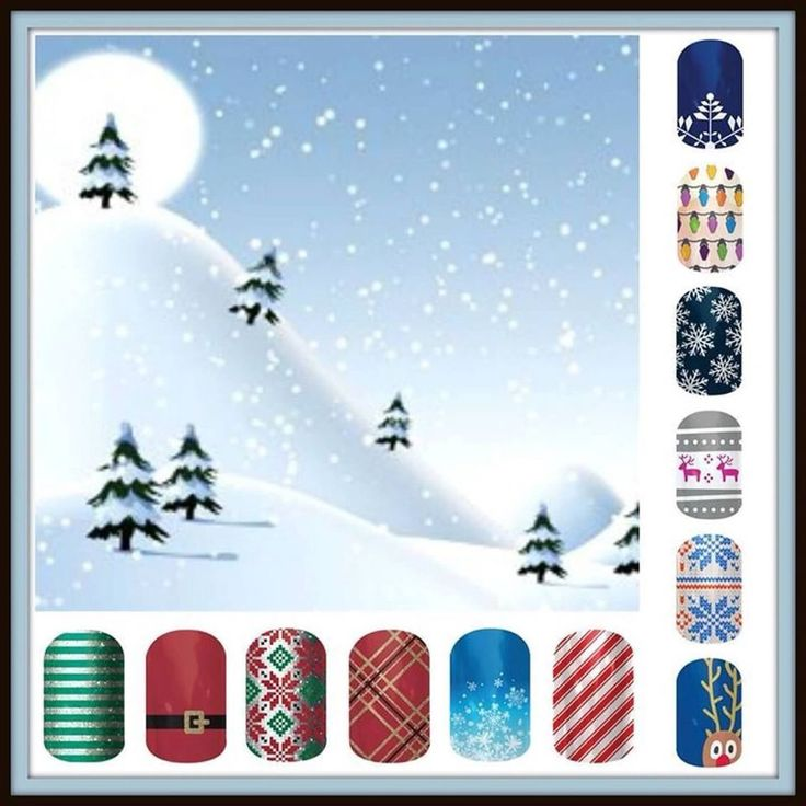 So many cute holiday designs; get them at www.taramichele.jamberrynails.net