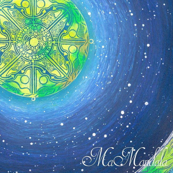 Mandala Samolepka Detail Nadeje