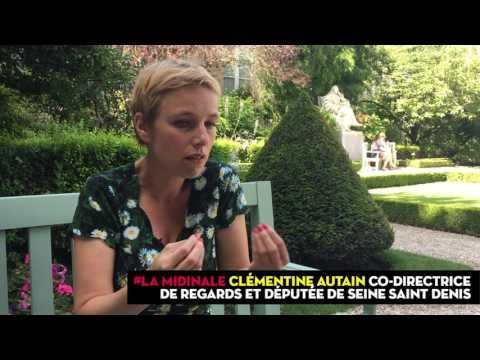 """Le journal de BORIS VICTOR : Clémentine Autain : """"Nous vivons un moment de reco..."""