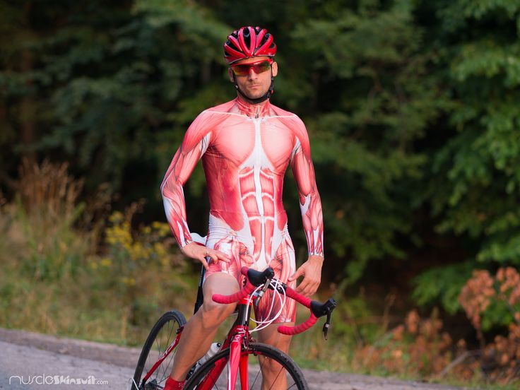 https://flic.kr/p/y8Fck5 | cycling body | muscle skinsuit long sleeve for cycling. More info about this skin suit on: muscleskinsuit.com/