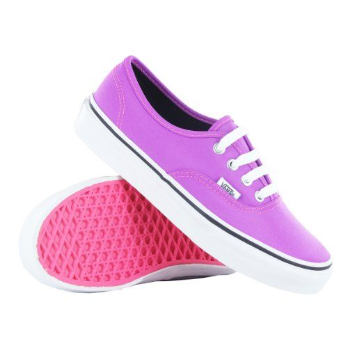 Cool Vans Classic Authentic Purple Womens Trainers... I WANT