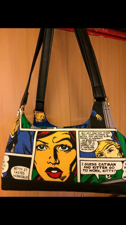 Väska som jag sytt.