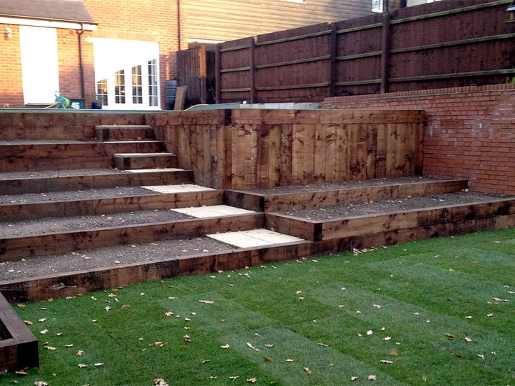 Tiered Gardens - Colchester, Essex :: Meadowbrook Landscapes