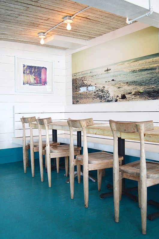 spotted: the surf lodge | sfgirlbybay -- love all of the color and beachy decor!