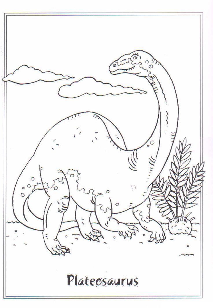"""Über 1.000 Ideen zu """"Malvorlage Dinosaurier auf Pinterest ..."""
