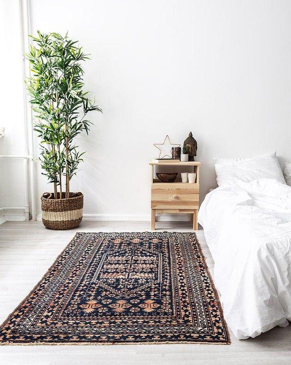 1980s Vintage Handwoven Antique Turkish Yagcibedir Rug West Of Turkey Size 35 X 511 105 X 182cm Tribal Rugs Bedroom Rugs On Carpet Turkish Rug Bedroom