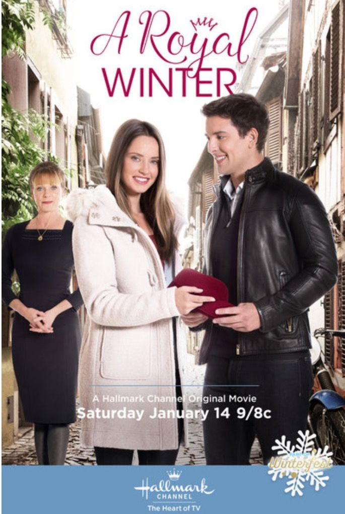 """""""A Royal Winter"""" movie on the Hallmark Channel."""