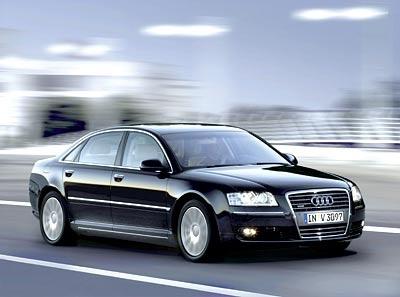 Sanju went with the Audi A8 W12. Good choice good sir.