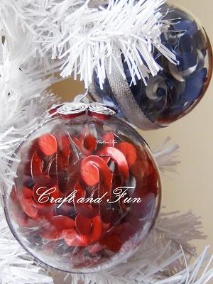 Fai da te- palline di Natale con capsule del caffè riciclate