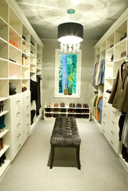 33 best images about id 135 closet on pinterest for Master bathroom designs with walk in closets