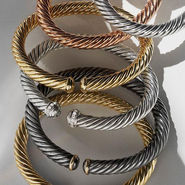New Cable Spira® bracelets.