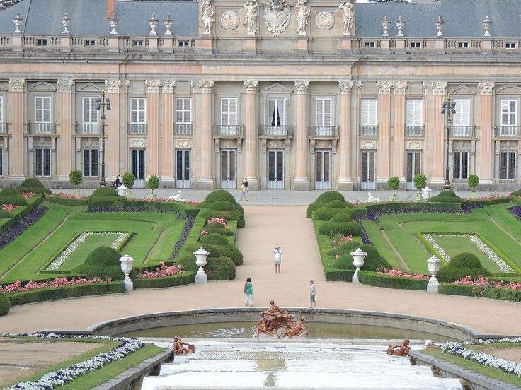 Jardines del palacio de la granja en san ildefonso for Jardines san ildefonso