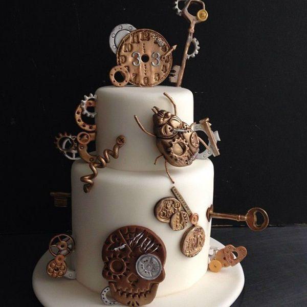 20 Wedding Cakes parfaits pour Halloween ! Image: 6