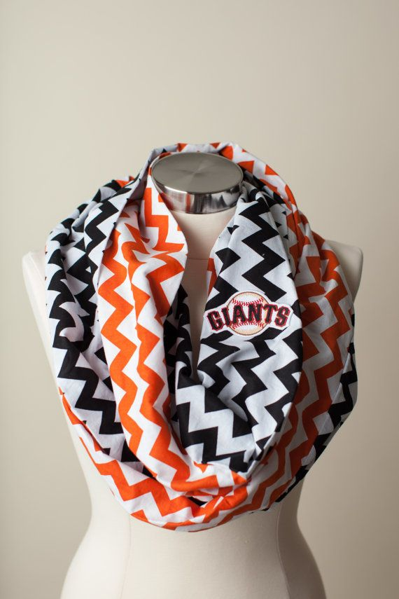 San Francisco Giants MLB Infinity Scarf on Etsy, $24.00