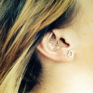The Daith Piercing | 28 Adventurous Ear Piercings To Try This Summer