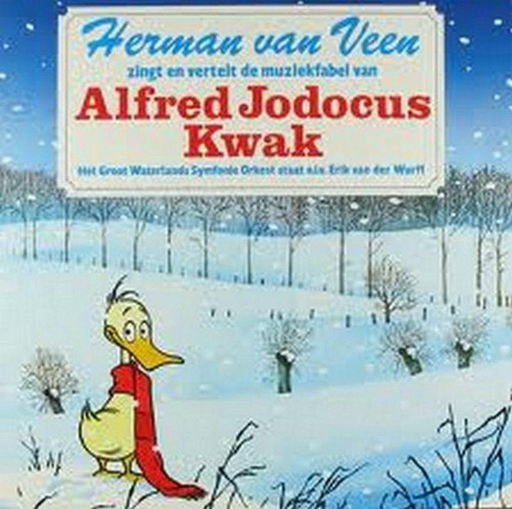 Herman van Veen - Die Musikfabel Von Der Ente Quak GER 1985 2xLp MINT