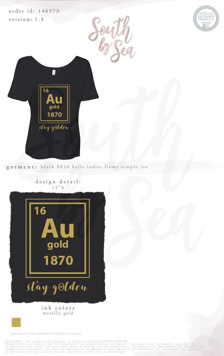 Kappa Alpha Theta | Thetas | Stay Golden | Periodic Table of Elements Theme | Science Theme | Quotes | South by Sea | Greek Tee Shirts | Greek Tank Tops | Custom Apparel Design | Custom Greek Apparel | Sorority Tee Shirts | Sorority Tanks | Sorority Shirt Designs
