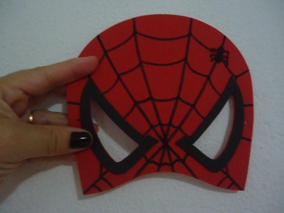 Máscara Homem Aranha-media