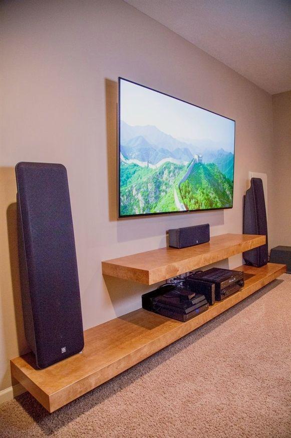 Most Modern And Handsome Tv Wall Designs Living Room Tv Hide Floating Floating Shelves Living Room Floating Shelves Entertainment Center Entertainment Shelves