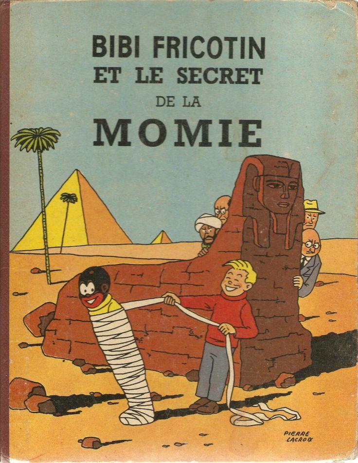 Bibi Fricotin et le secret de la momie