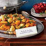 Roasted Root Vegetables with Cider Glaze Recipe | MyRecipes.com