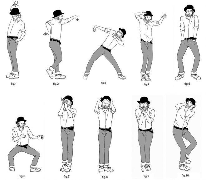 D Da E D Thom Yorke Dance Moves on Ballroom Dance Diagrams