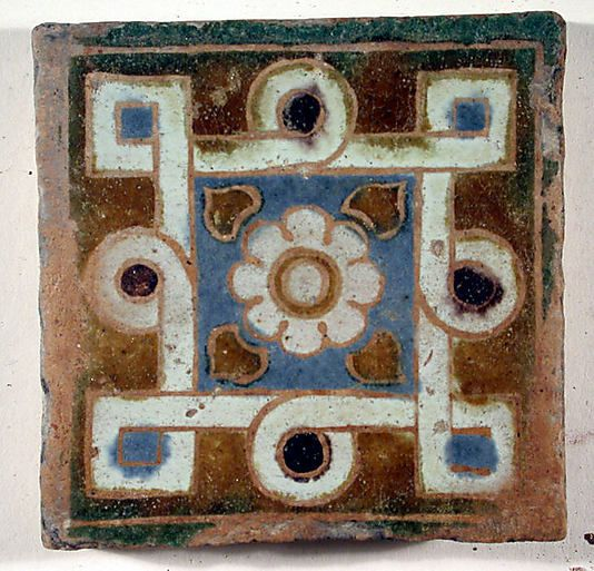 16th century Spanish tile