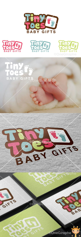 Tiny Toes #baby #logo #logodesign #cute #graphic#design #designer #portfolio…
