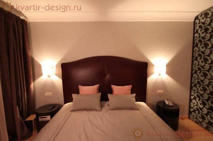 Настенные светильники для спальни в интерьере фото