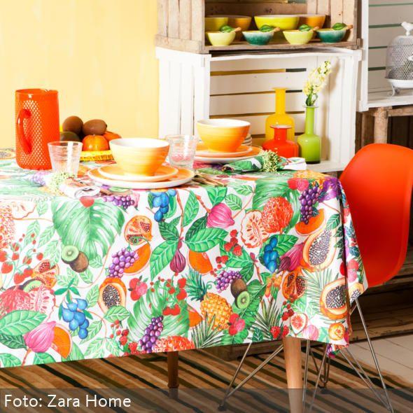 Energie Am Frühstückstisch Durch Warme Farben
