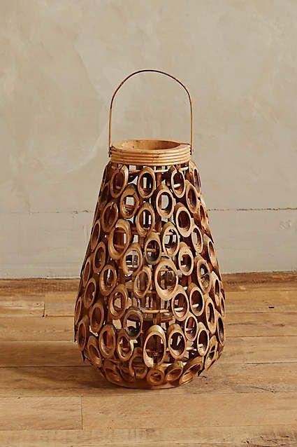 Talih Bamboo Lantern - anthropologie.com #anthrofave