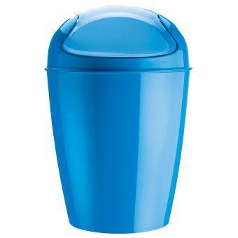 €40 Schwingdeckeleimer Del XL solid karibikblau