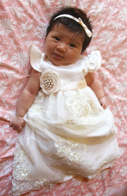 DIY Baby Blessing Dress- Anna Elizabeth Made