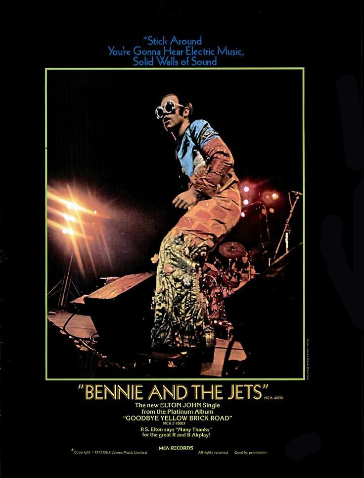 how to play bennie and the jets piano solo