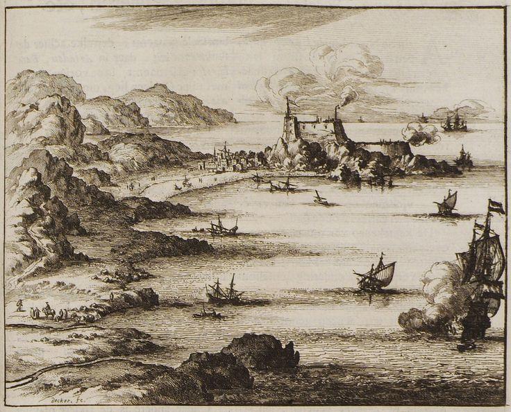 1688 Άποψη του οχυρού του Σελίνου στην Παλαιόχωρα Χανίων. - DAPPER, Olfert - ME TO BΛΕΜΜΑ ΤΩΝ ΠΕΡΙΗΓΗΤΩΝ - Τόποι - Μνημεία - Άνθρωποι - Νοτιοανατολική Ευρώπη - Ανατολική Μεσόγειος - Ελλάδα - Μικρά Ασία - Νότιος Ιταλία, 15ος - 20ός αιώνας