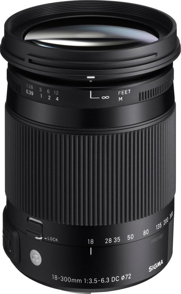 Best Buy Sigma 18 300mm F 3 5 6 3 Dc Macro Os Hsm Optical Zoom Lens For Canon Ef Black 886101 Zoom Lens Digital Camera Lens Macro Lens