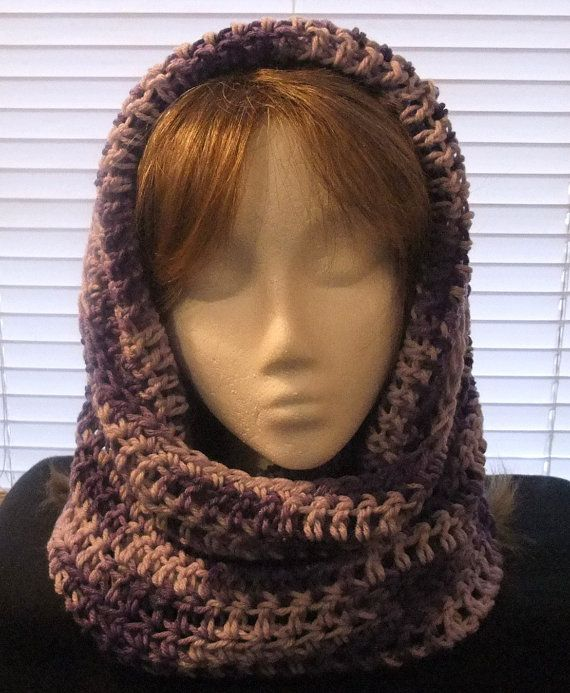 16 Best Images About Crochet Hooded Cowls On Pinterest