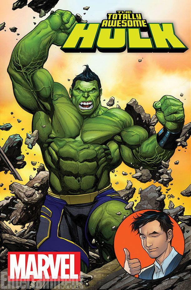 "Images for : Marvel Reveals New Hulk's ""Totally Awesome"" Identity - Comic Book Resources"