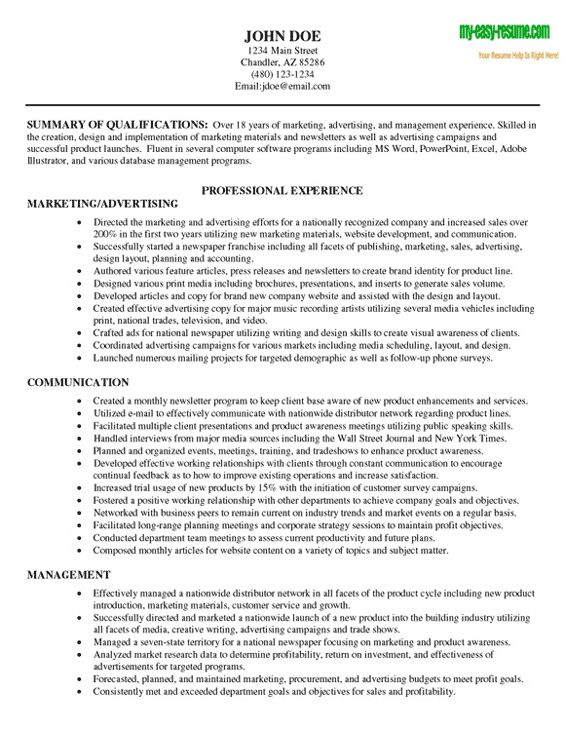 Best 25+ Job Resume Samples Ideas On Pinterest | Resume Builder Template,  Resume Format Examples And Resume Templates  Resumes Samples