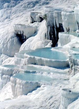 Natural Rock Pools- Pamukkale - Turkey