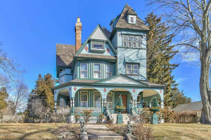 Fully and beautifully restored, 4 story, Queen Anne Victorian overlooks the north branch of the Forked River. Sitting grandly and picturesque in absolute elegant grace, this is 1 of the oldest homes, the Mary Canis House, in Lacey Township. Original craftsmanship & authentic features have been beautifully time-honored. Renewed & returned to its historic charm, it leaves nothing to be desired. Updated where it counts: all utilities, plumbing, electrical, painting, stunning kitchen + more, but…