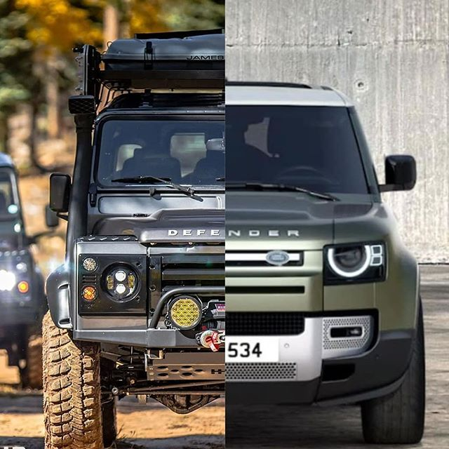 The Old Defender Looks So Good So Much Better Than The New One