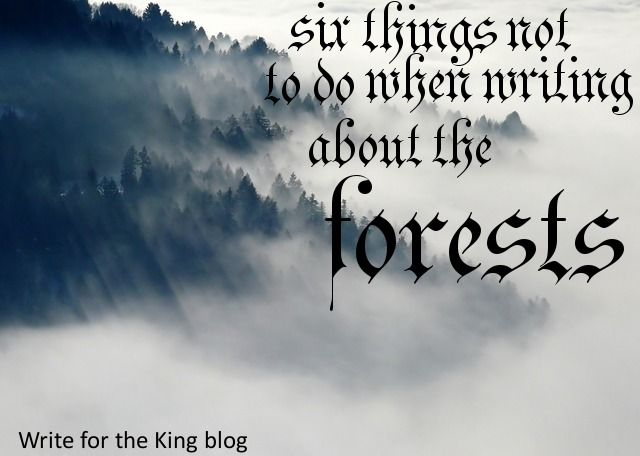 What not to do when writing about forests