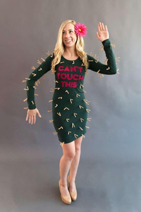 Quatang Gallery- Deguisement Cactus Diy 14 Idees De Deguisements Diy Faciles A Reussir Pour Halloween Idees De Deguisement Costume Halloween Idee Costume Halloween