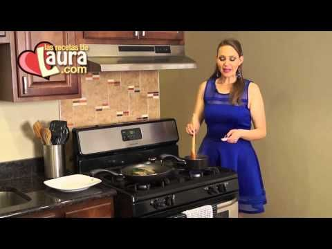 Chiles rellenos de carne molida Las Recetas de Laura Muller Recetas Light