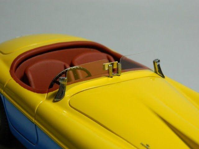 S57 Ferrari 166 MM barchetta Touring Stradale Lusso Evita Peron Limited 10 - V12 Sportmodels